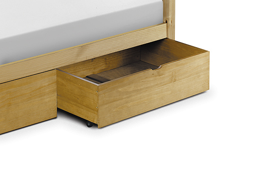 JULIAN BOWEN Under Bed Storage Drawer  Pine
